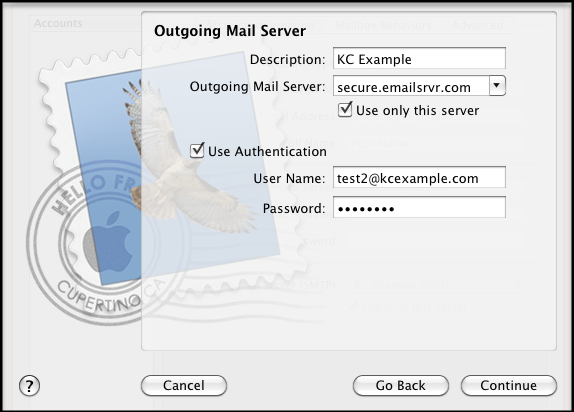 email mac mail 4