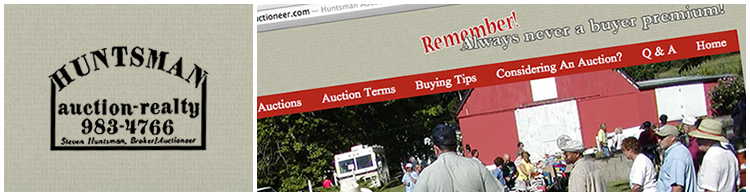 Huntsman Auctioneer